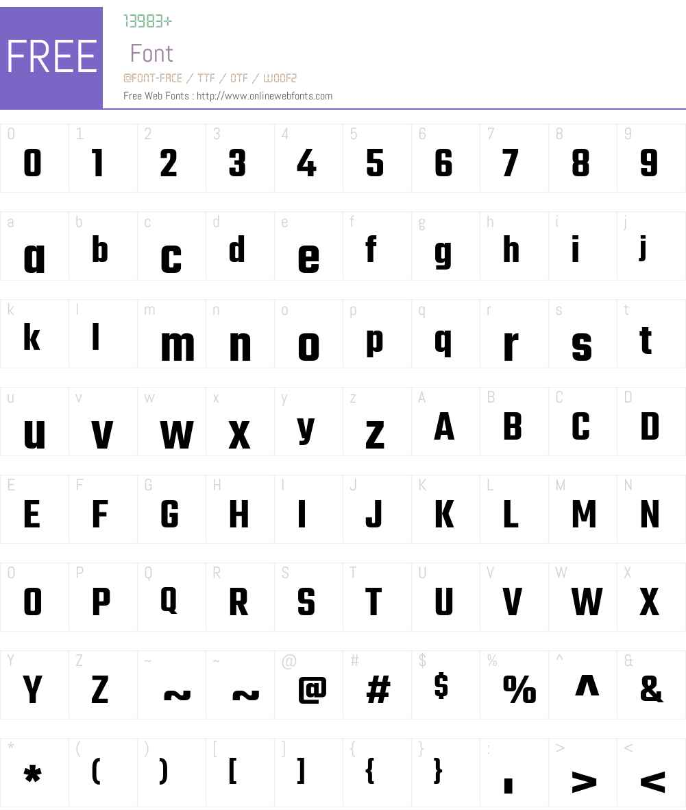 Teko SemiBold Font Screenshots