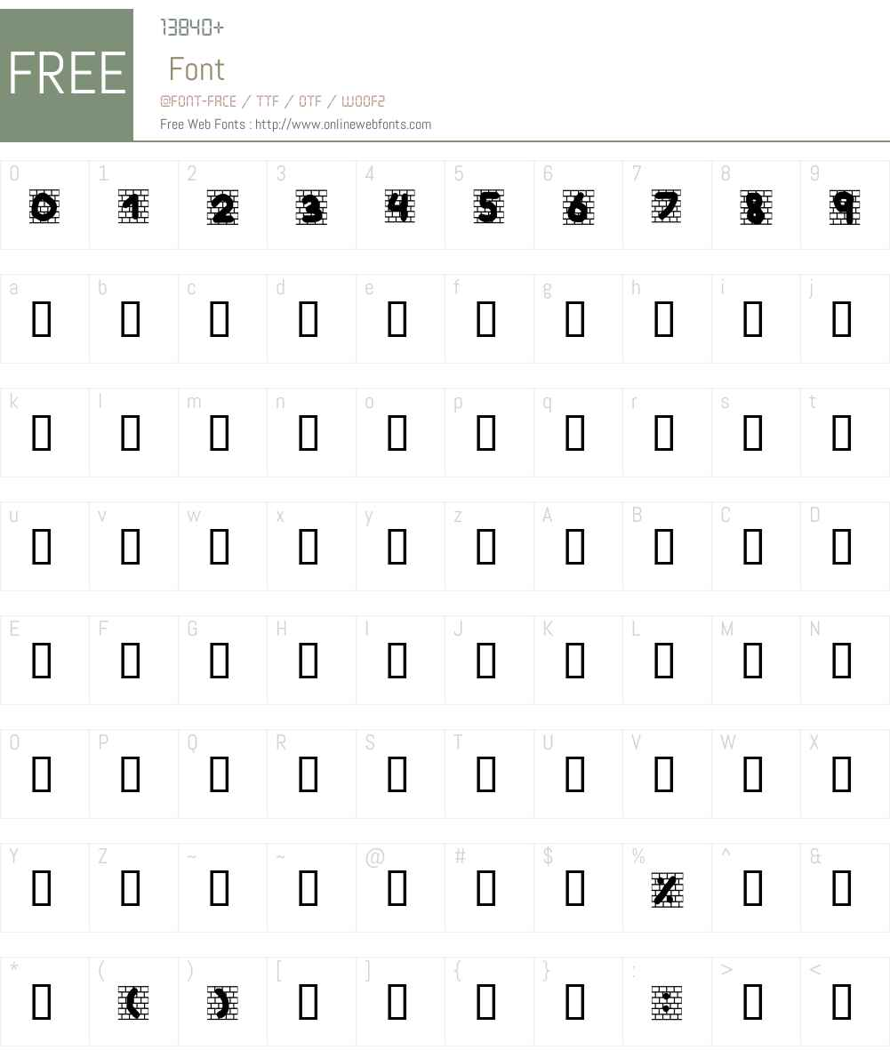 barakgraphity2.4 Font Screenshots