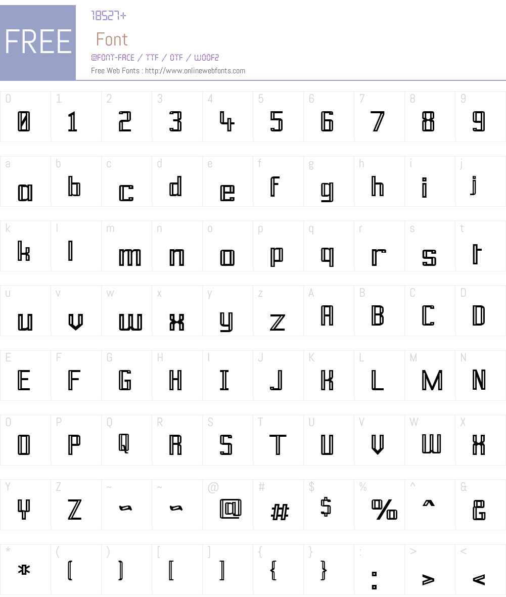 Prussian Brew Font Screenshots