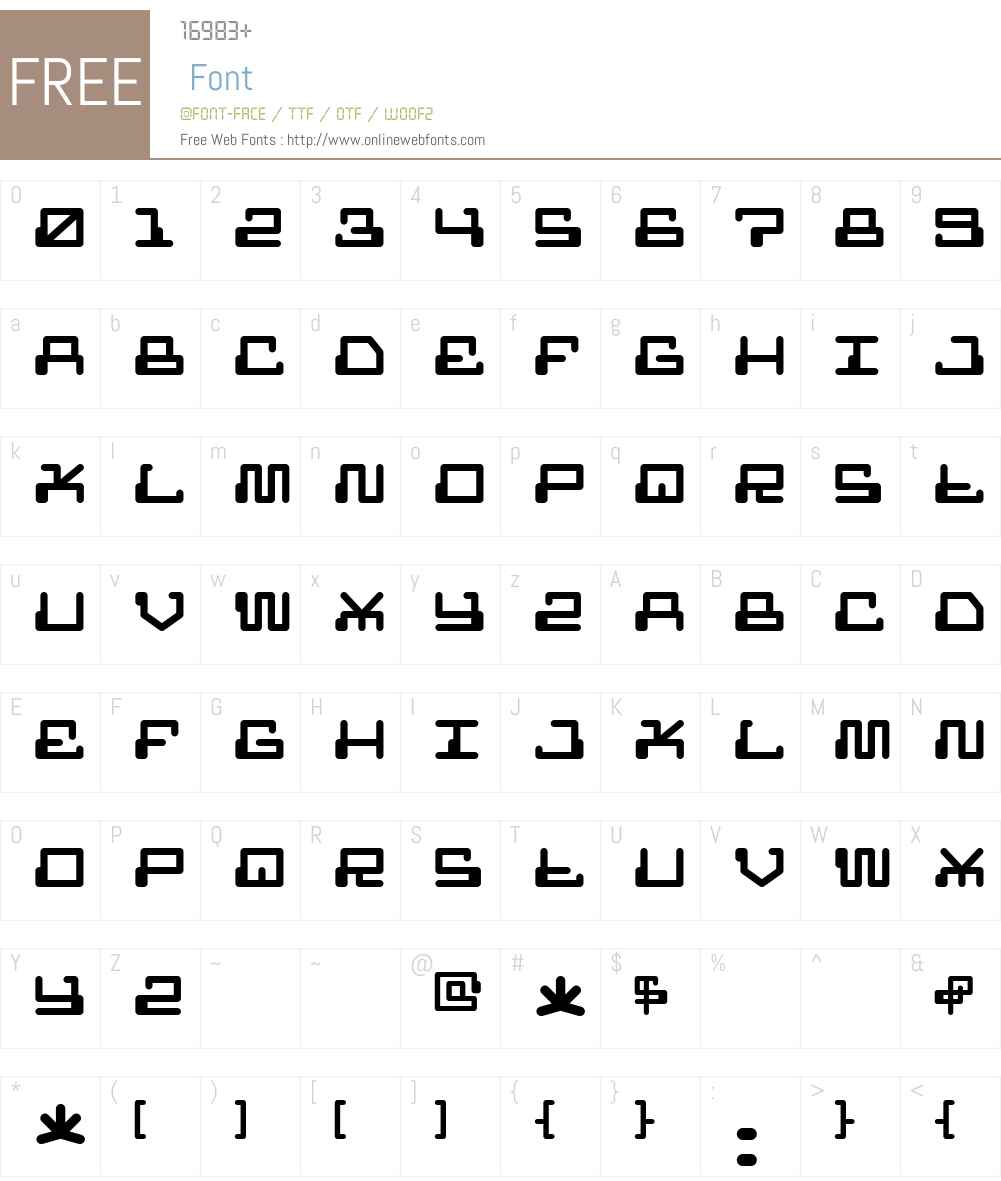 MR FUGLESANG CLEAN Font Screenshots