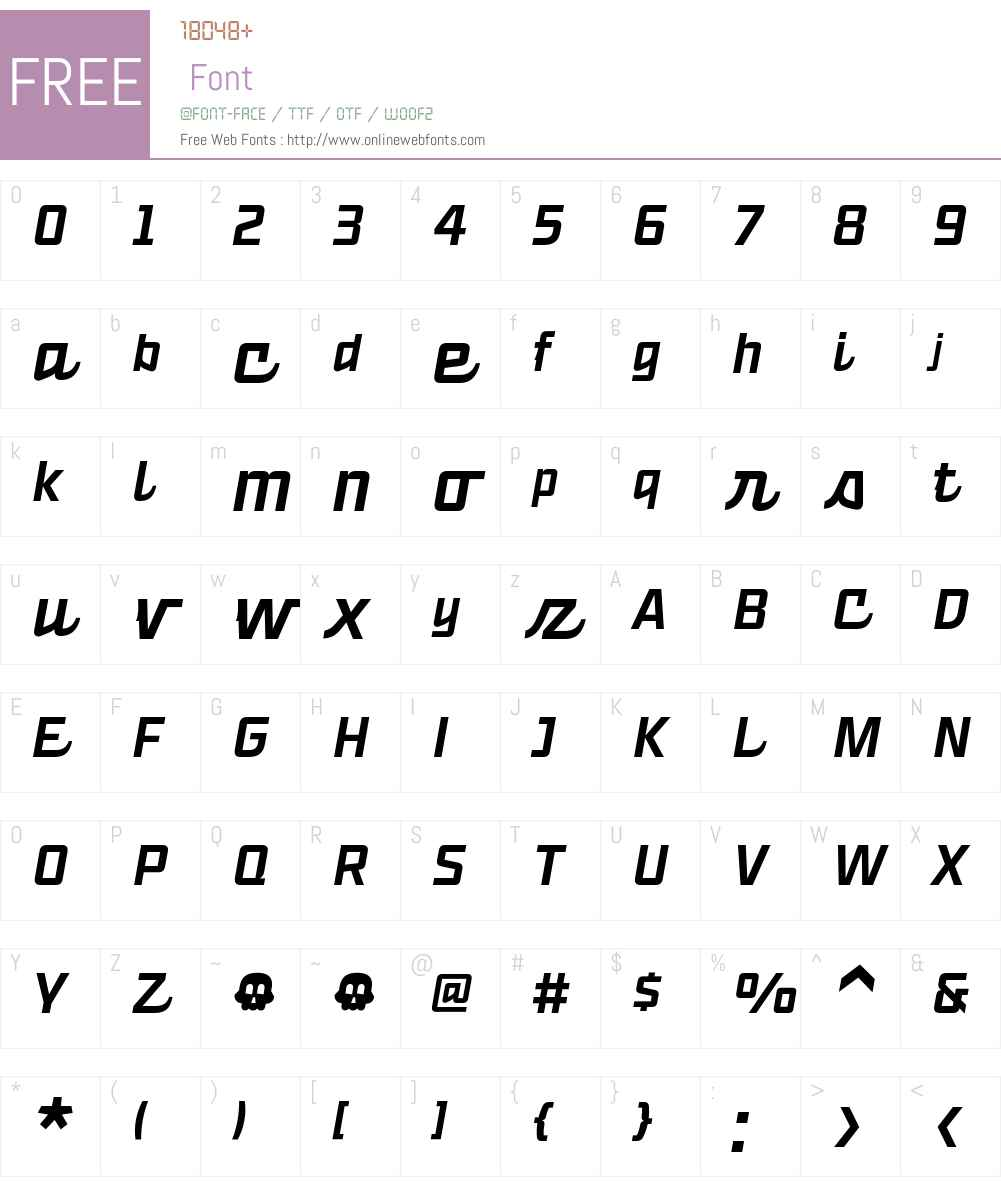 Ready Script Medium Font Screenshots