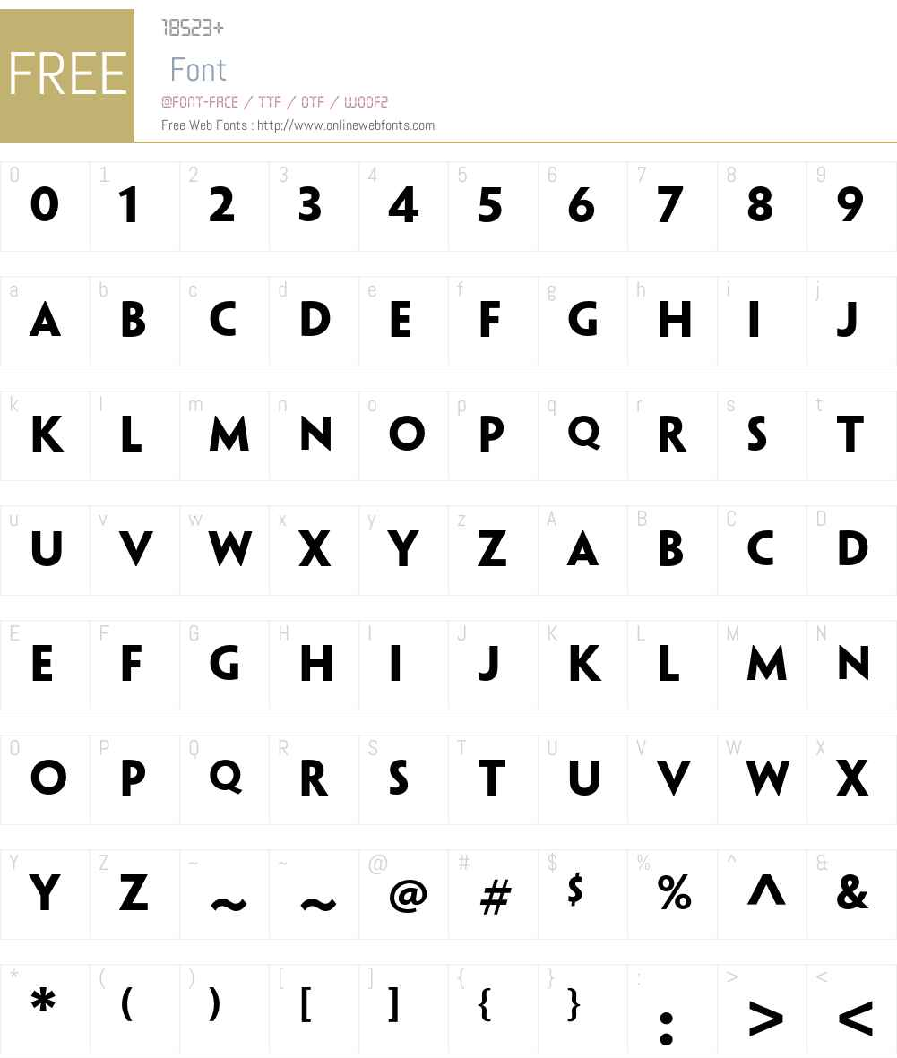 Penumbra Sans Std Font Screenshots