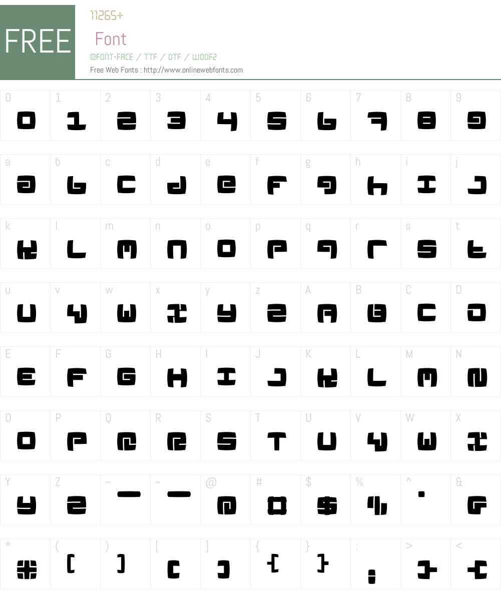 LinoleuMK Font Screenshots