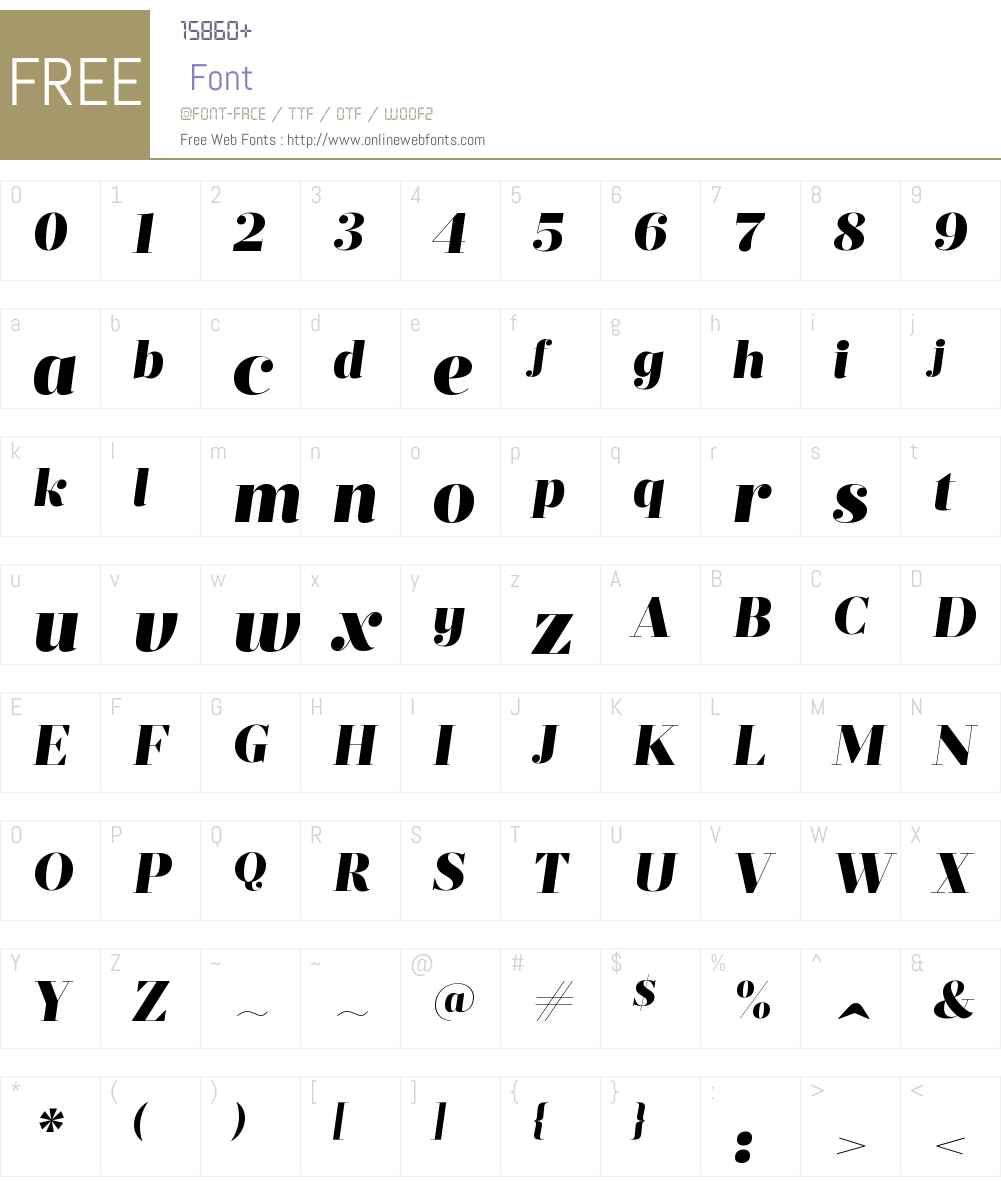 PrumoDisplayW00-BlackItalic Font Screenshots