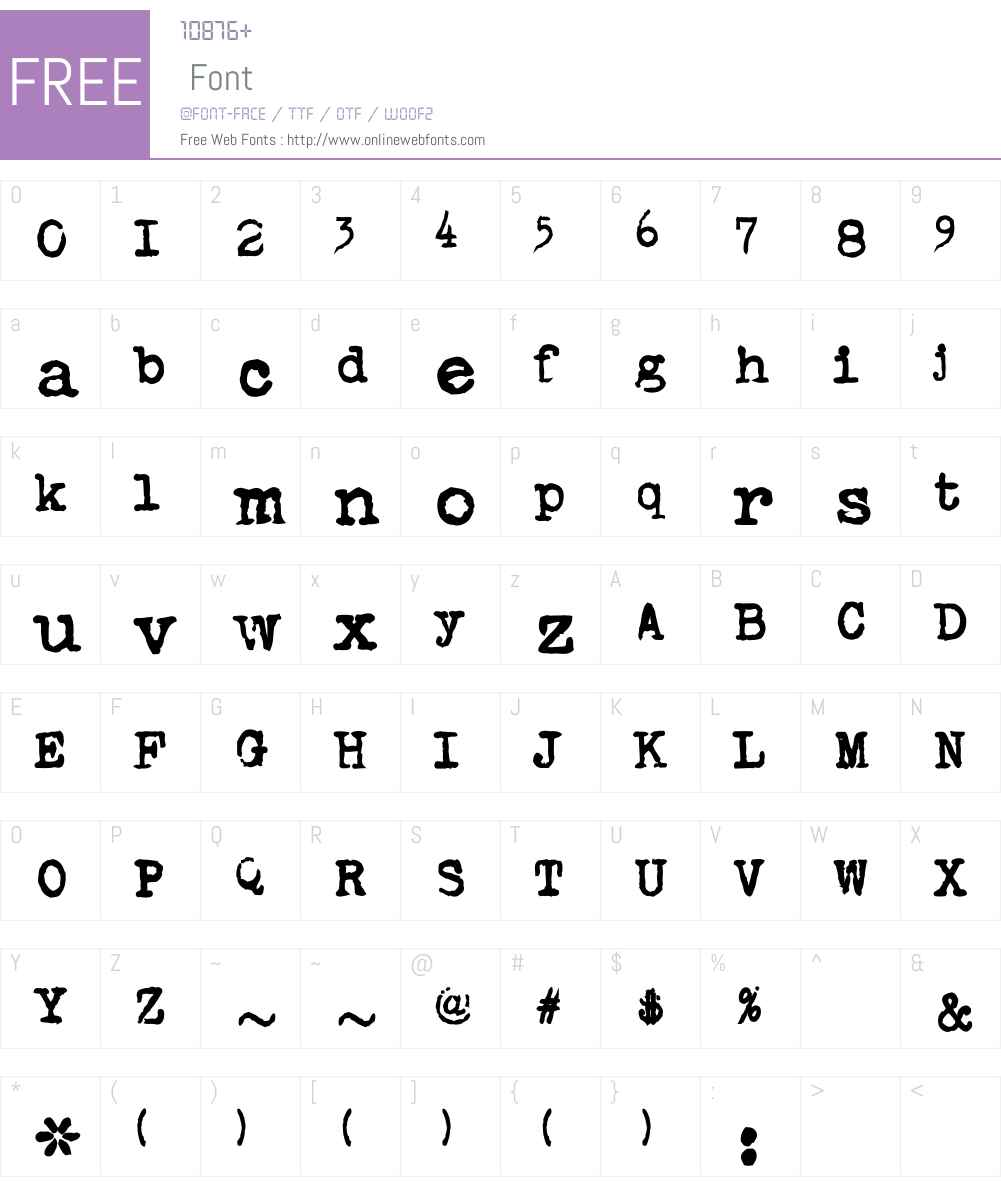BarTextCFW00-Bold Font Screenshots
