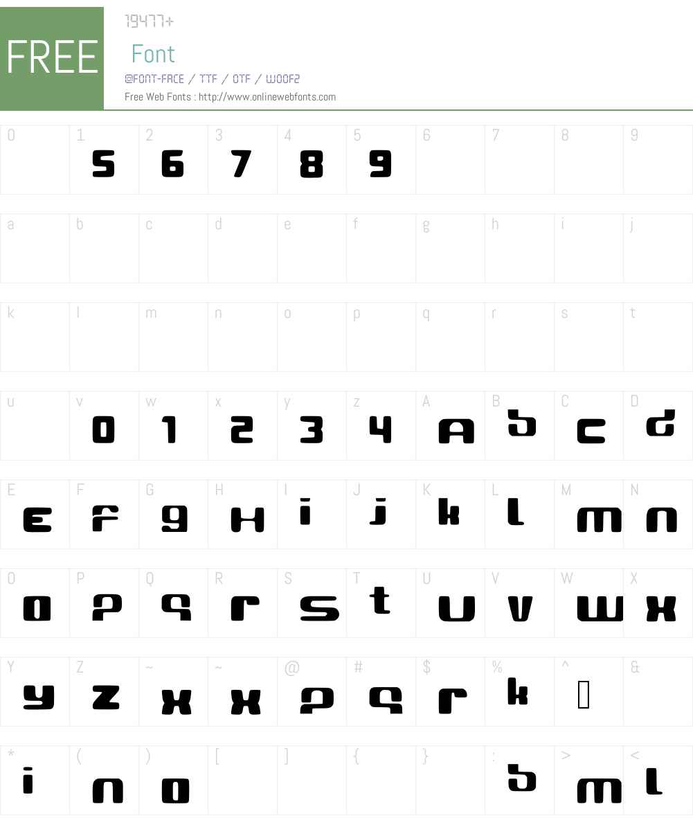 Ramedio Font Screenshots