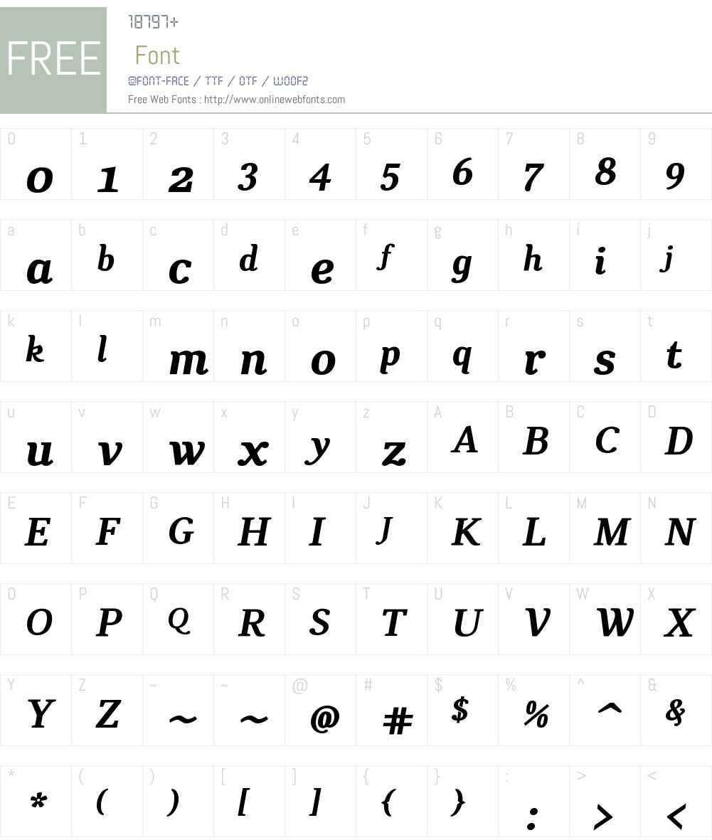 CATexteronW01-BoldItalic Font Screenshots