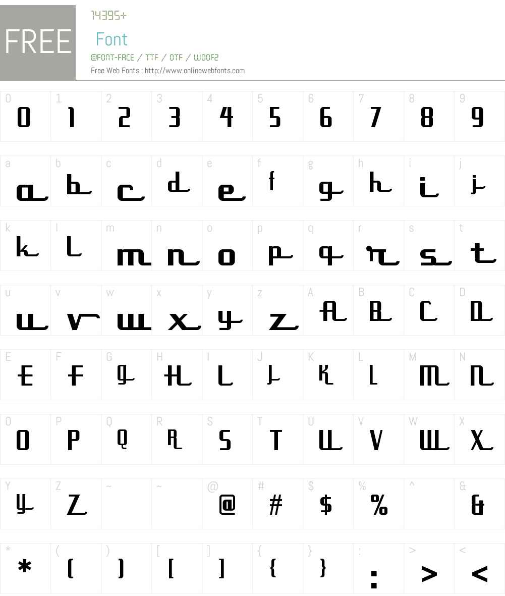 Uppen Arms NF Font Screenshots