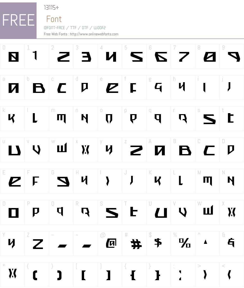 Snubfighter Condensed Font Screenshots