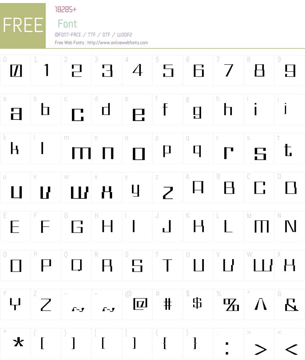 Whiz Kid Font Screenshots