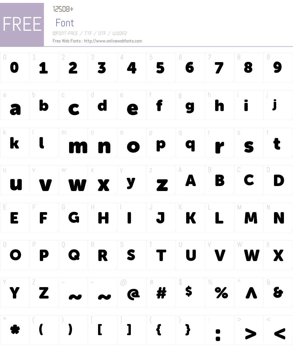 Museo Sans Rounded 1000 Font Screenshots