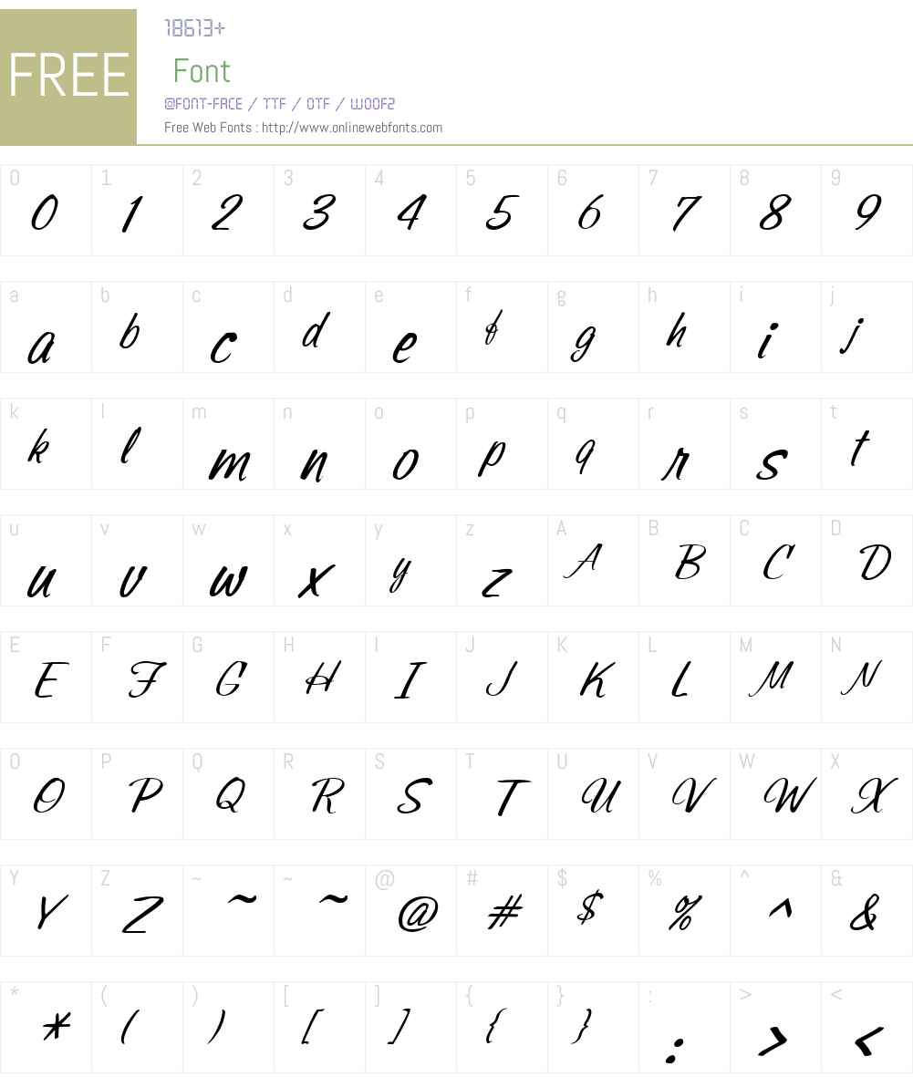 SonoraW01-LightItalic Font Screenshots