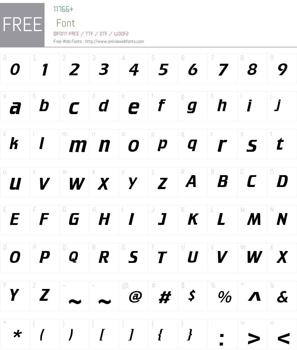 Krupper Font Screenshots