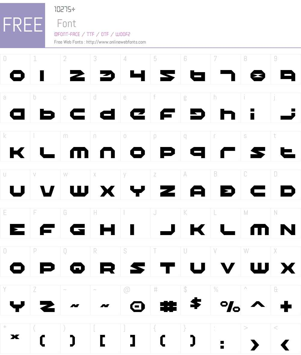 Halo Font Screenshots