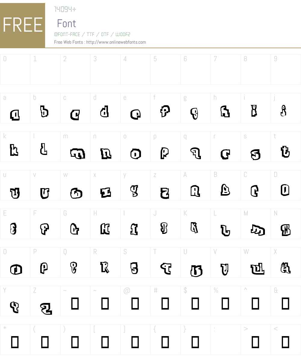 Jab Font Screenshots