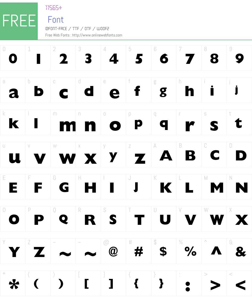 Gill Sans Std Font Screenshots