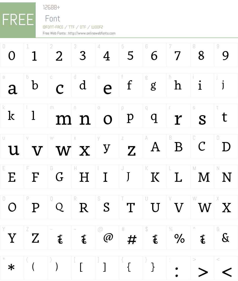UXWOIX+Alkes-Regular Font Screenshots