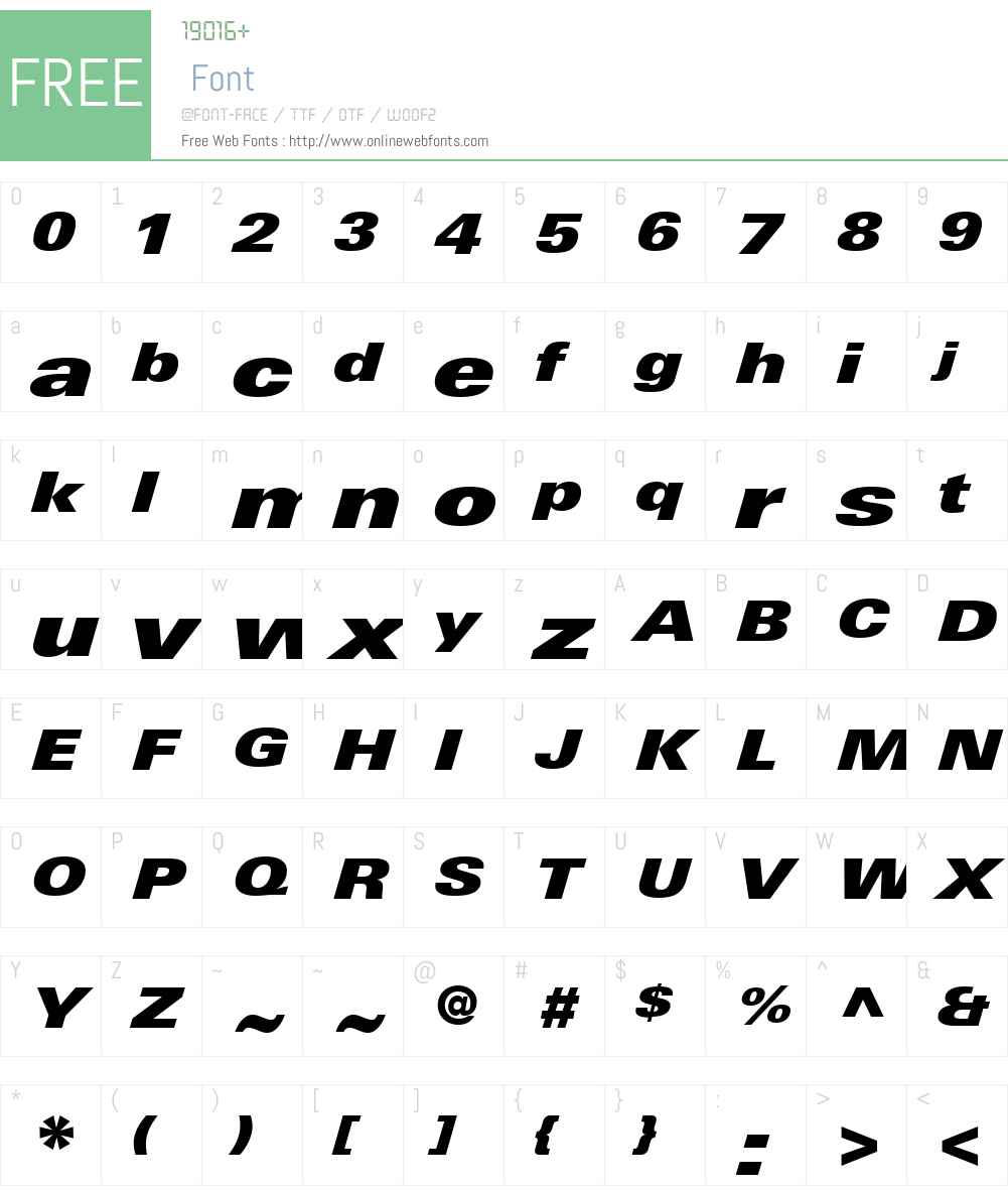 LinotypeUniversW01-XBkExIt Font Screenshots