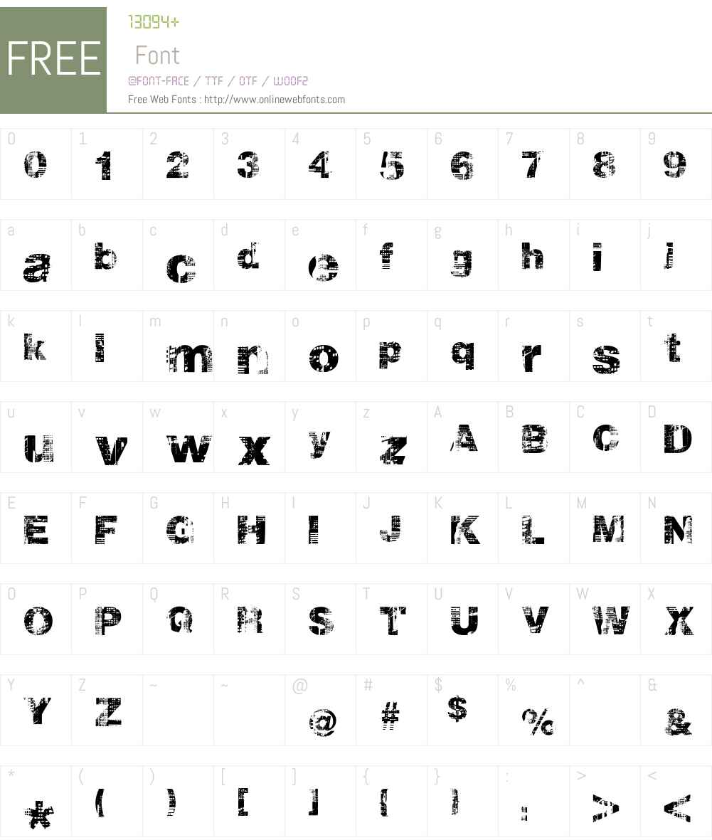 hollavetica Font Screenshots