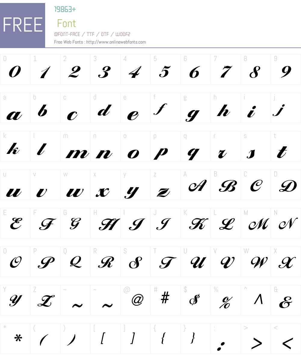 Ballantines Font Screenshots