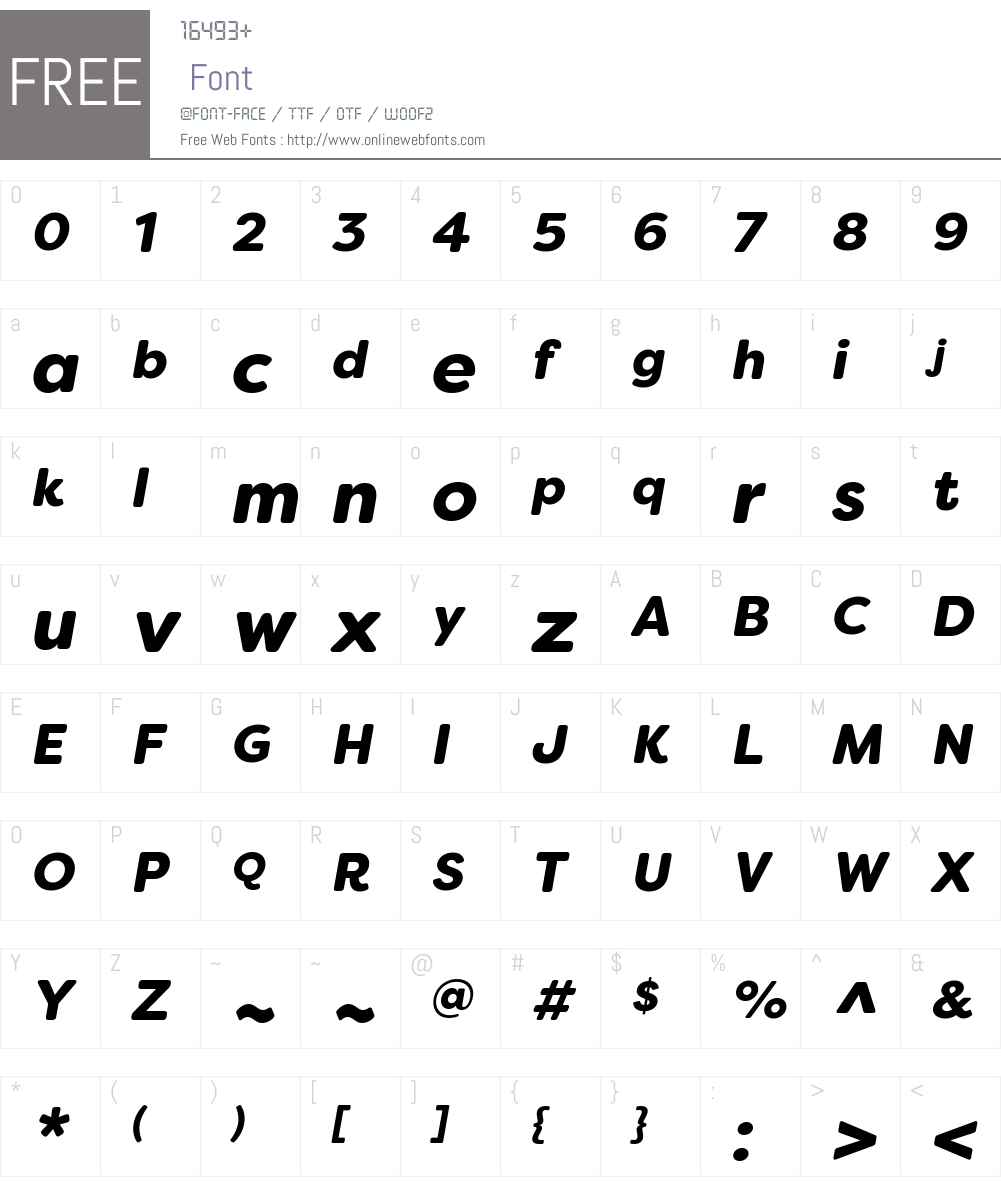 Filson Soft Font Screenshots