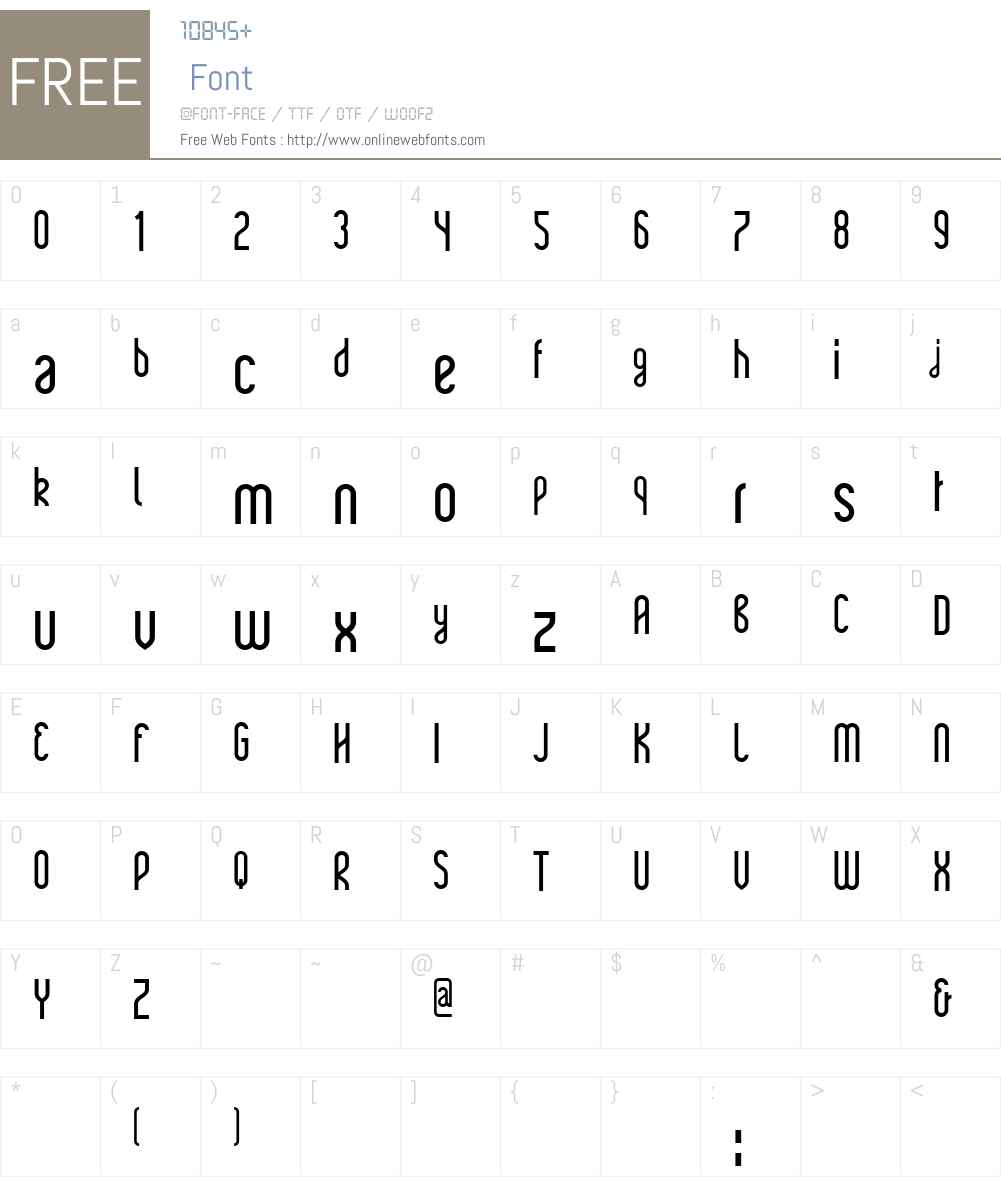 Rajkeys Font Screenshots