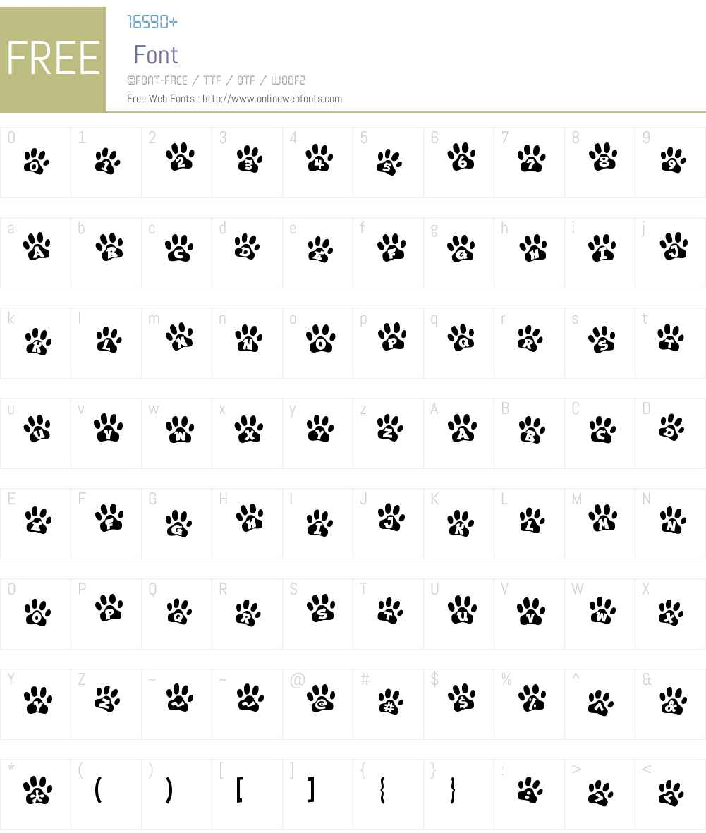 Ennobled Pet Font Screenshots