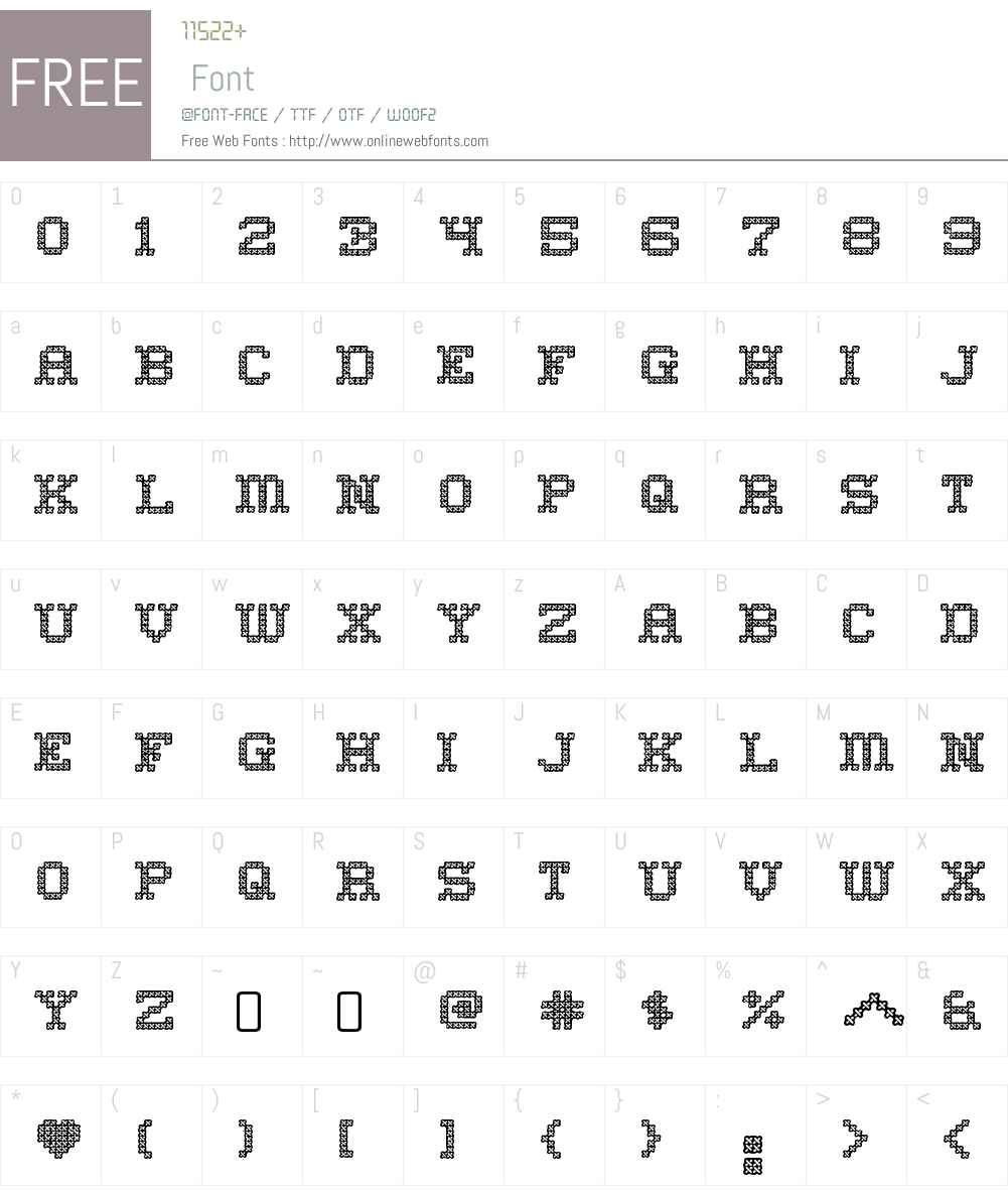 Home Sweet Home Font Screenshots