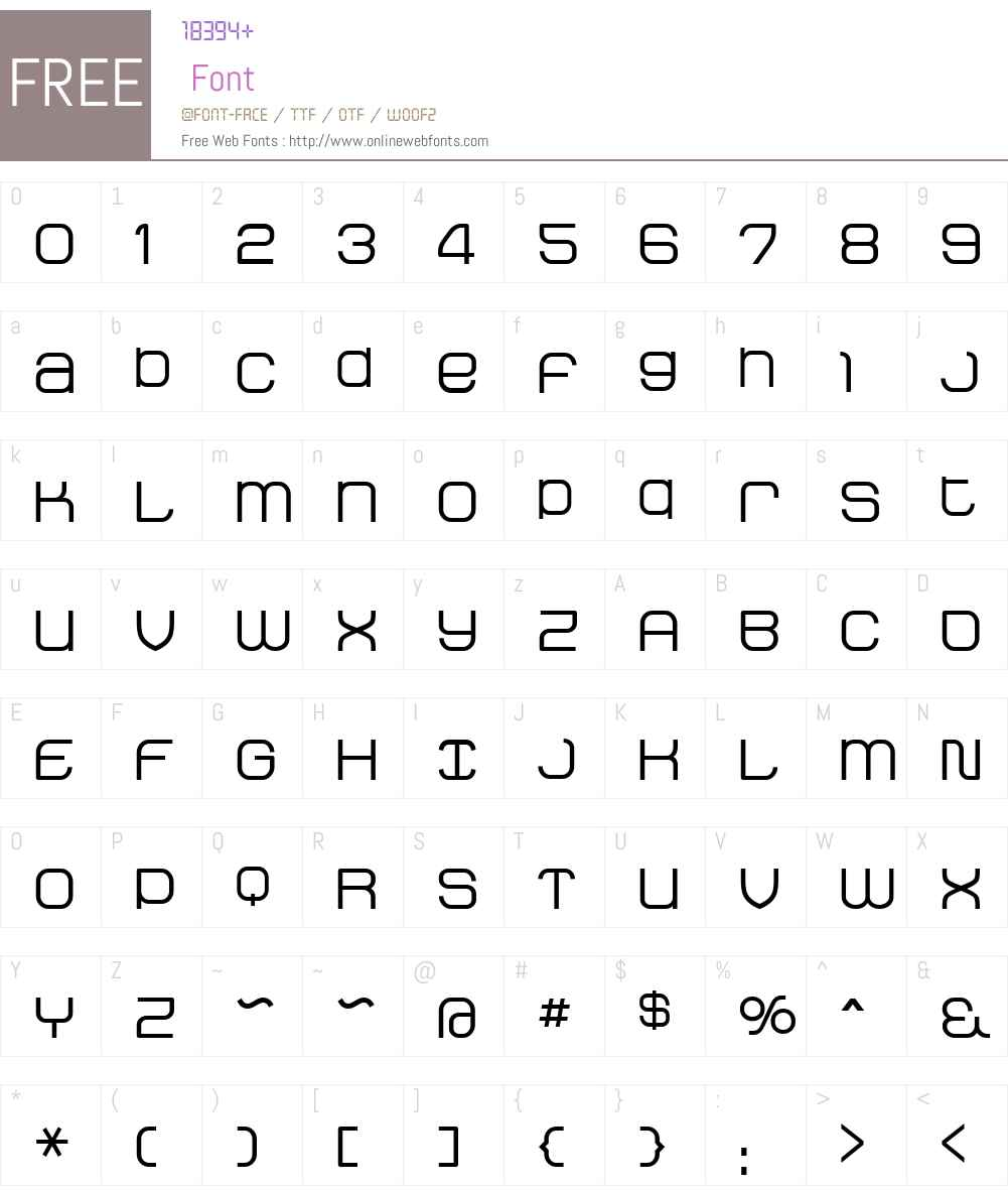 StakBold Font Screenshots