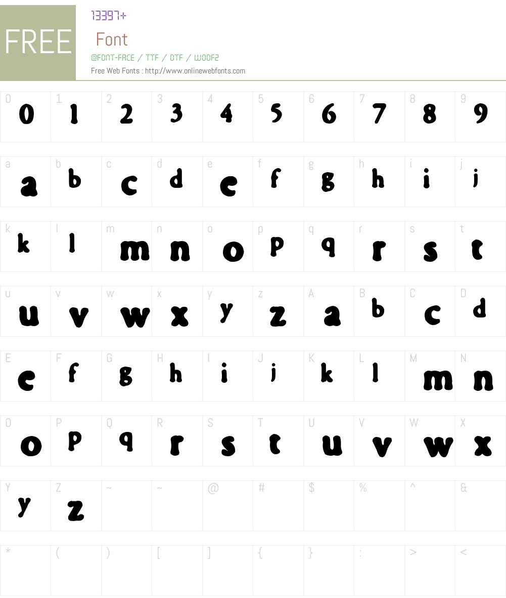 fontilit Font Screenshots