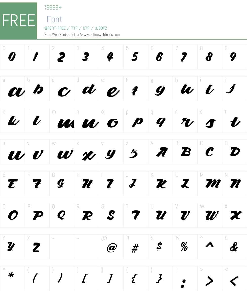Gemulay Font Screenshots