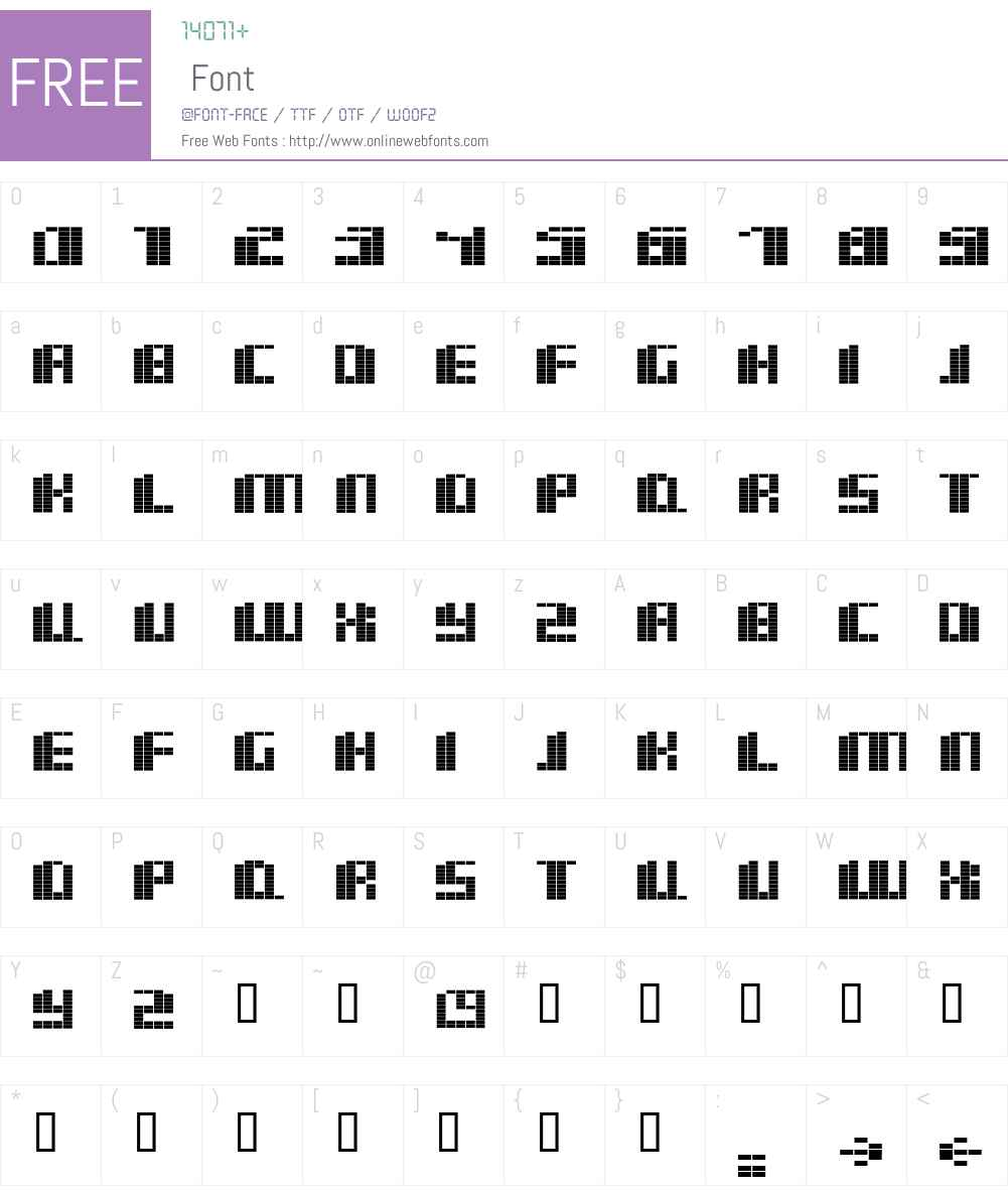 basm Font Screenshots