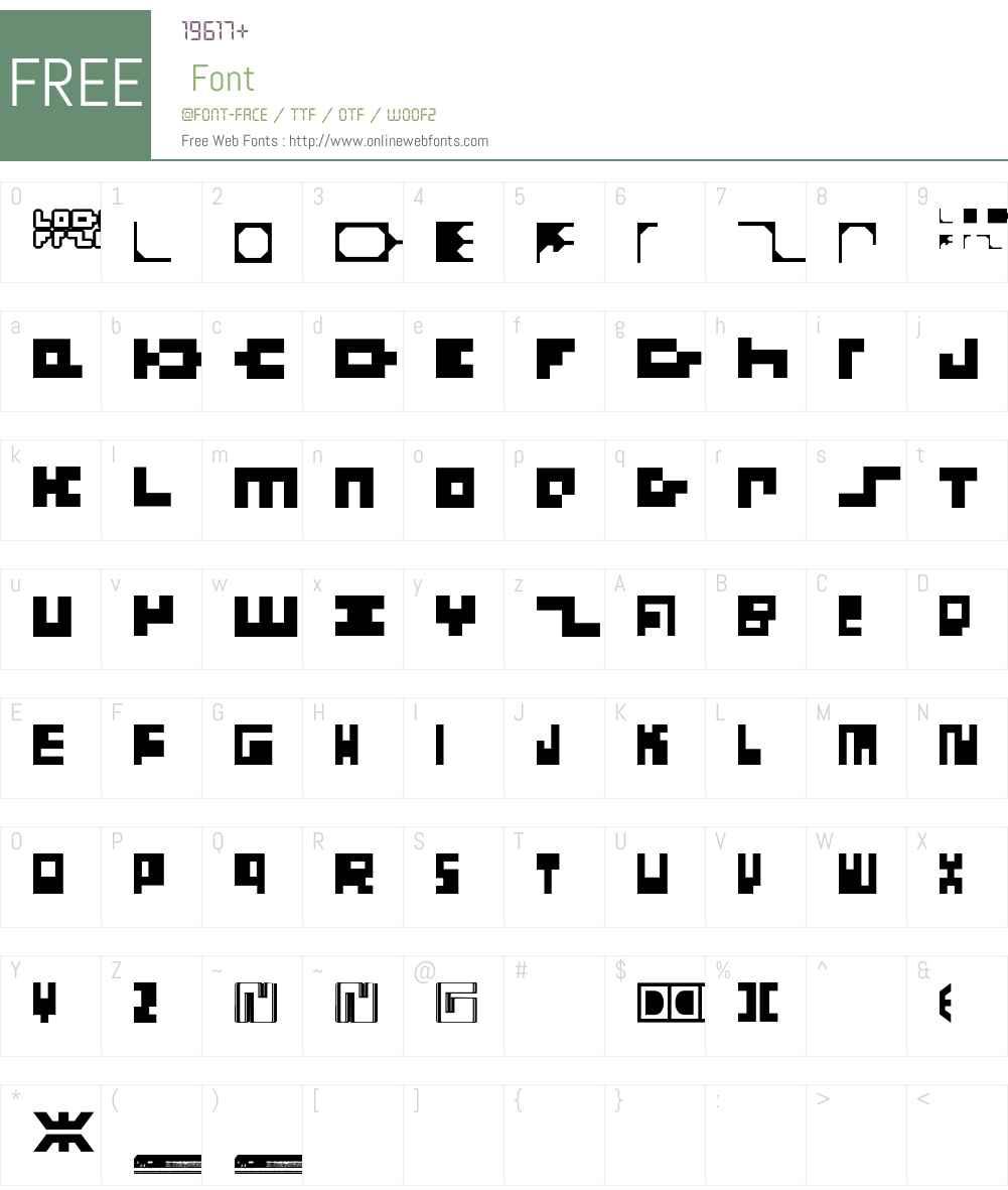 LodelFizler Font Screenshots