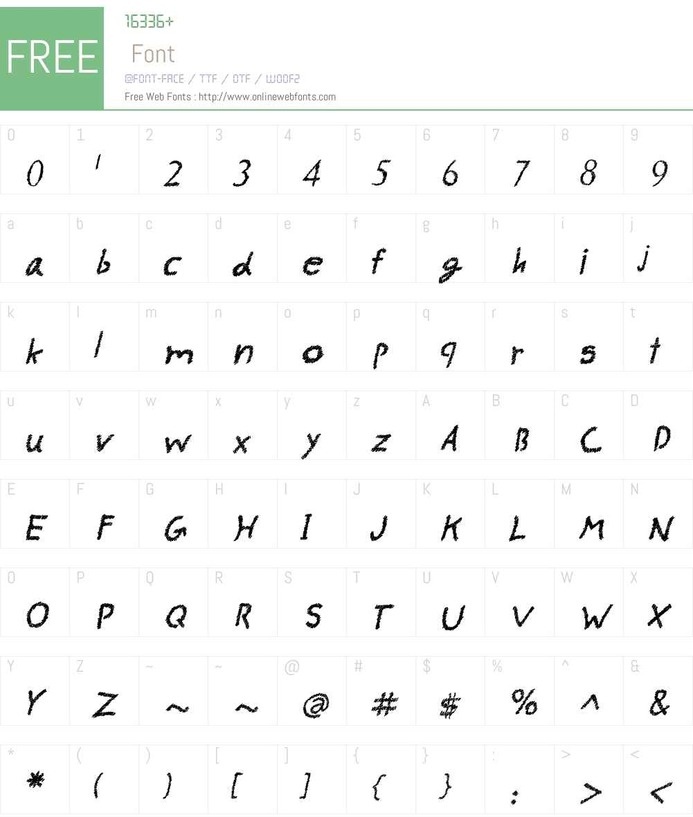 AAA-Watin New Font Screenshots