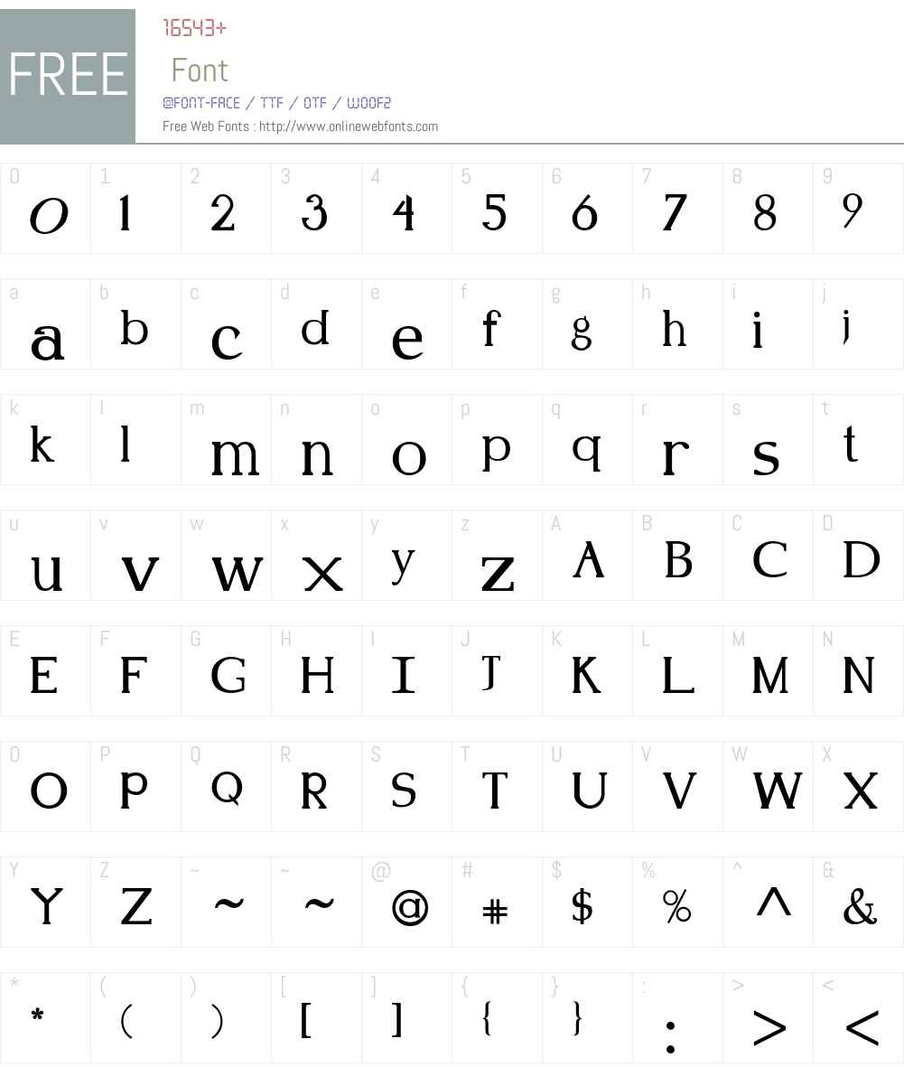 Kennon Font Screenshots