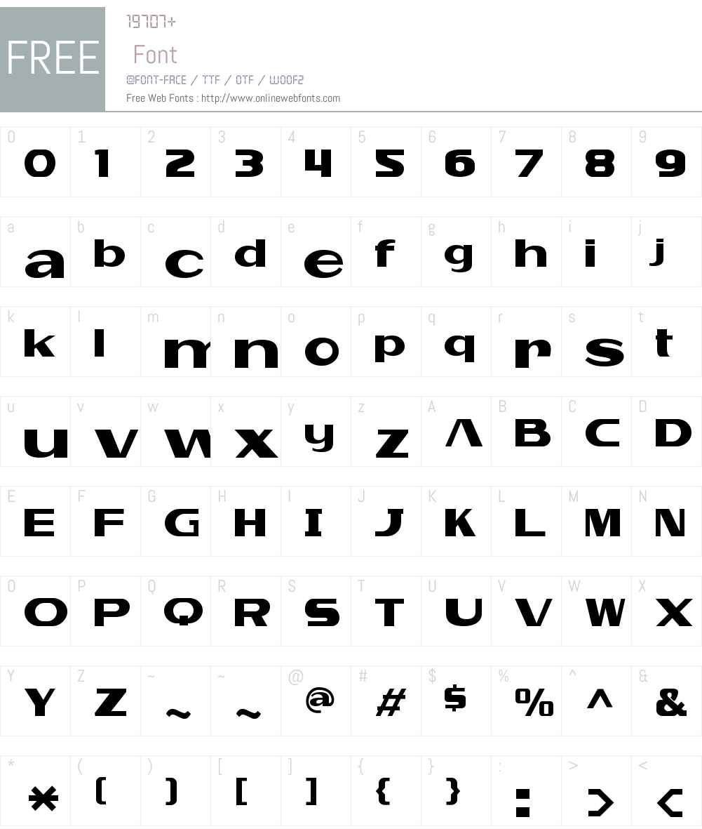 Falkencrest Font Screenshots