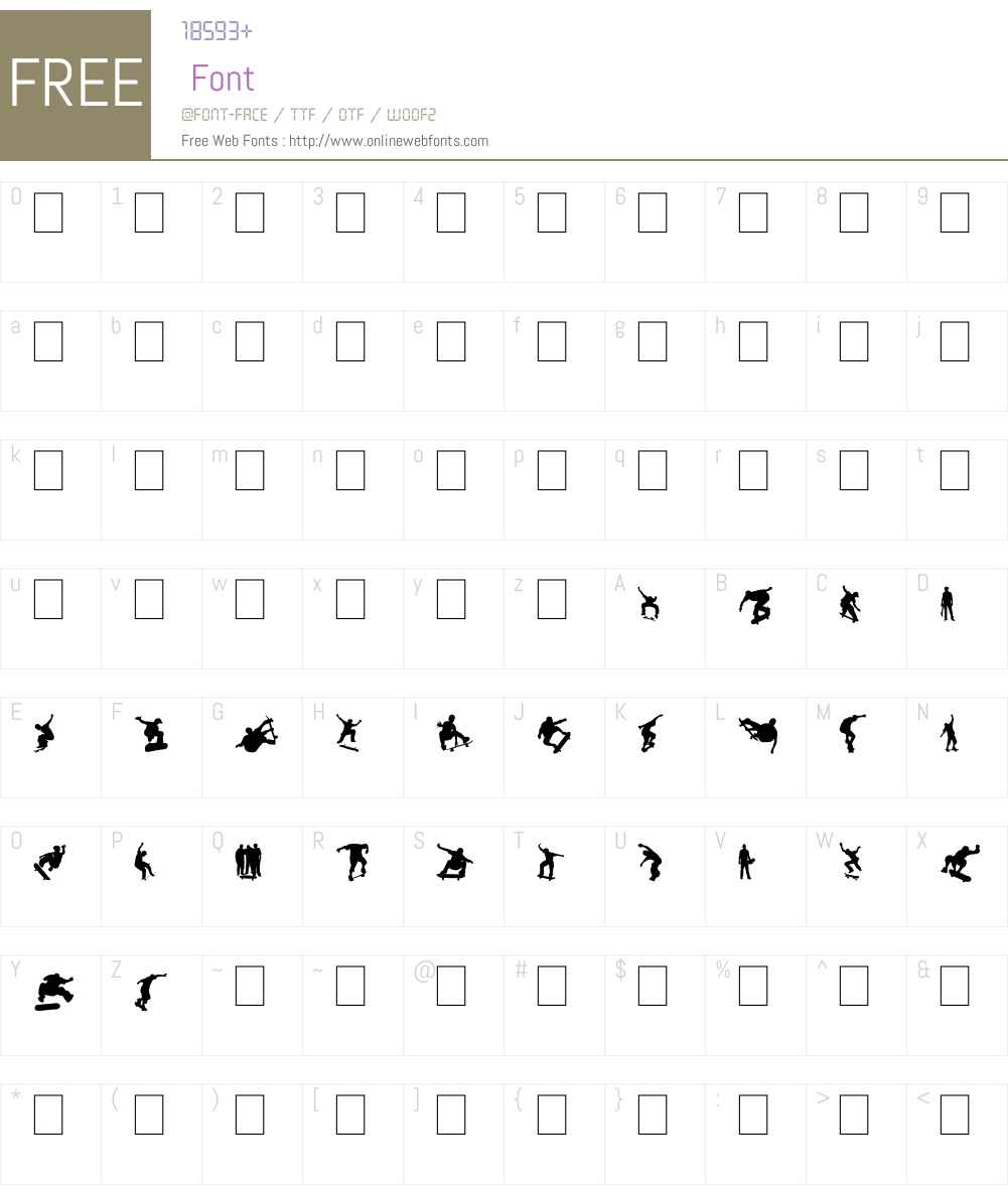 Board Dudes Font Screenshots