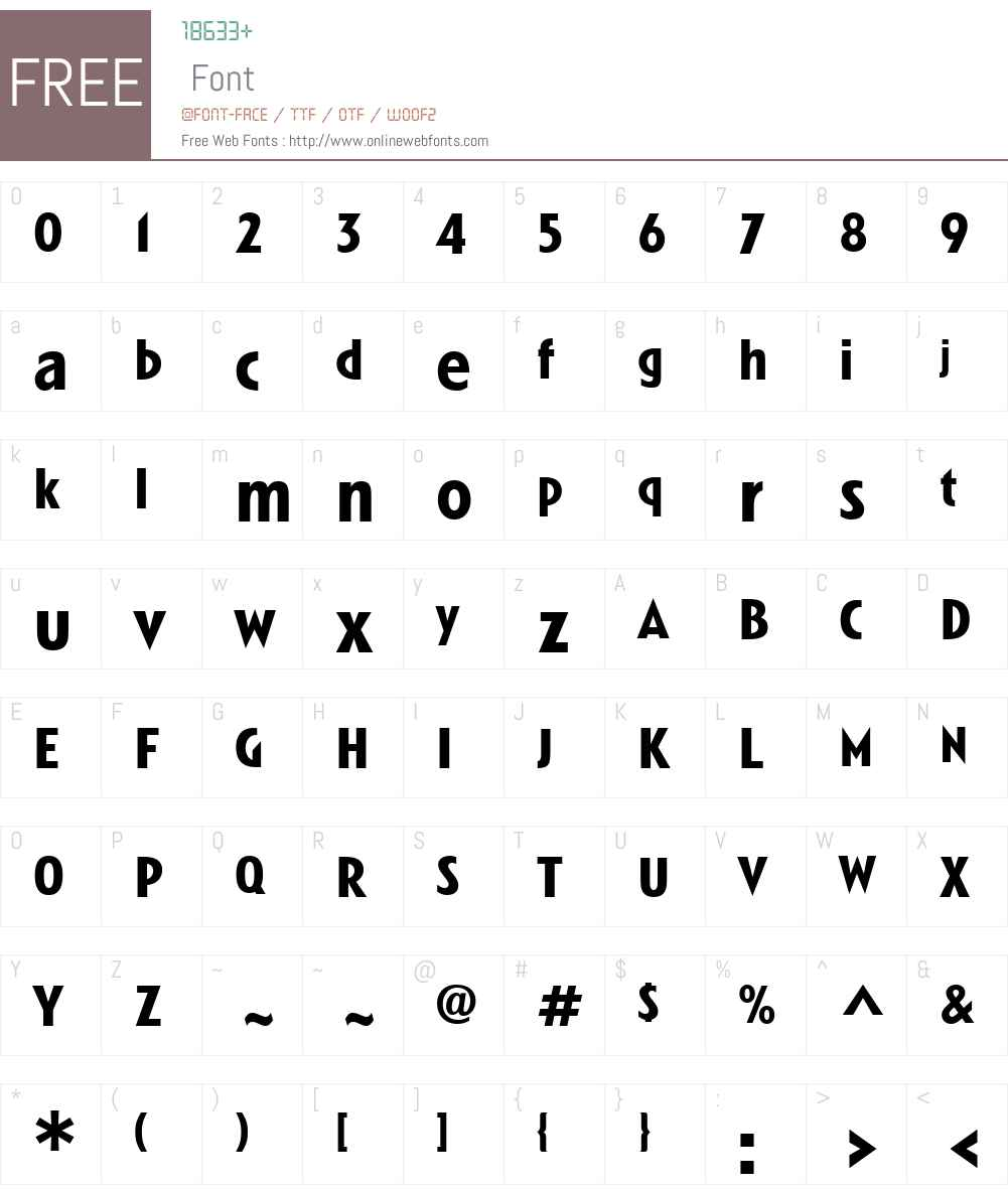 LinotypeSpitzW01-Bold Font Screenshots