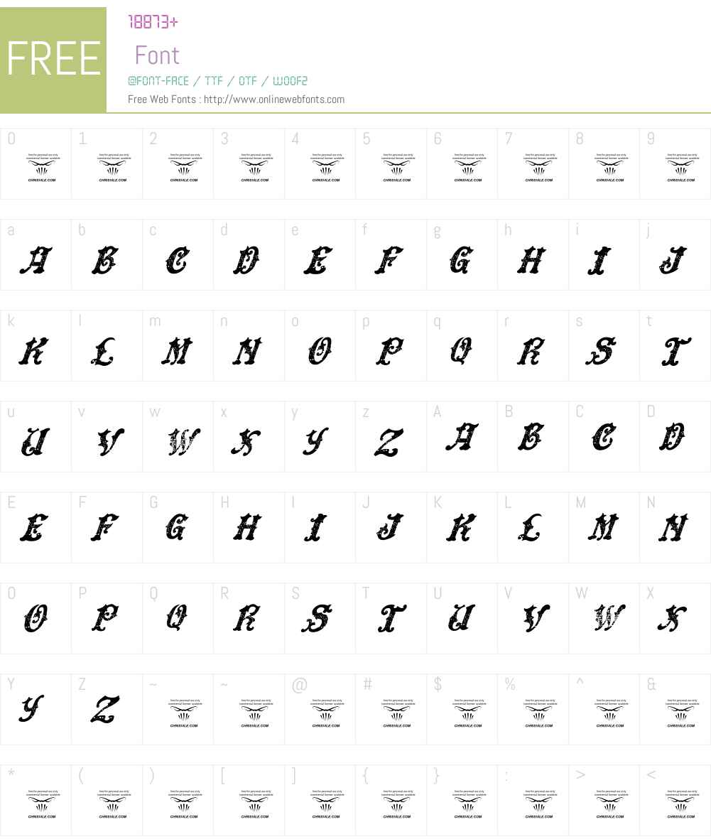 DinglE HuckleberrY Font Screenshots