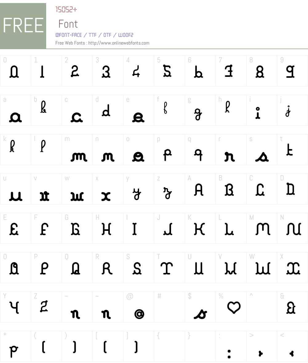 A La Nage Font Screenshots