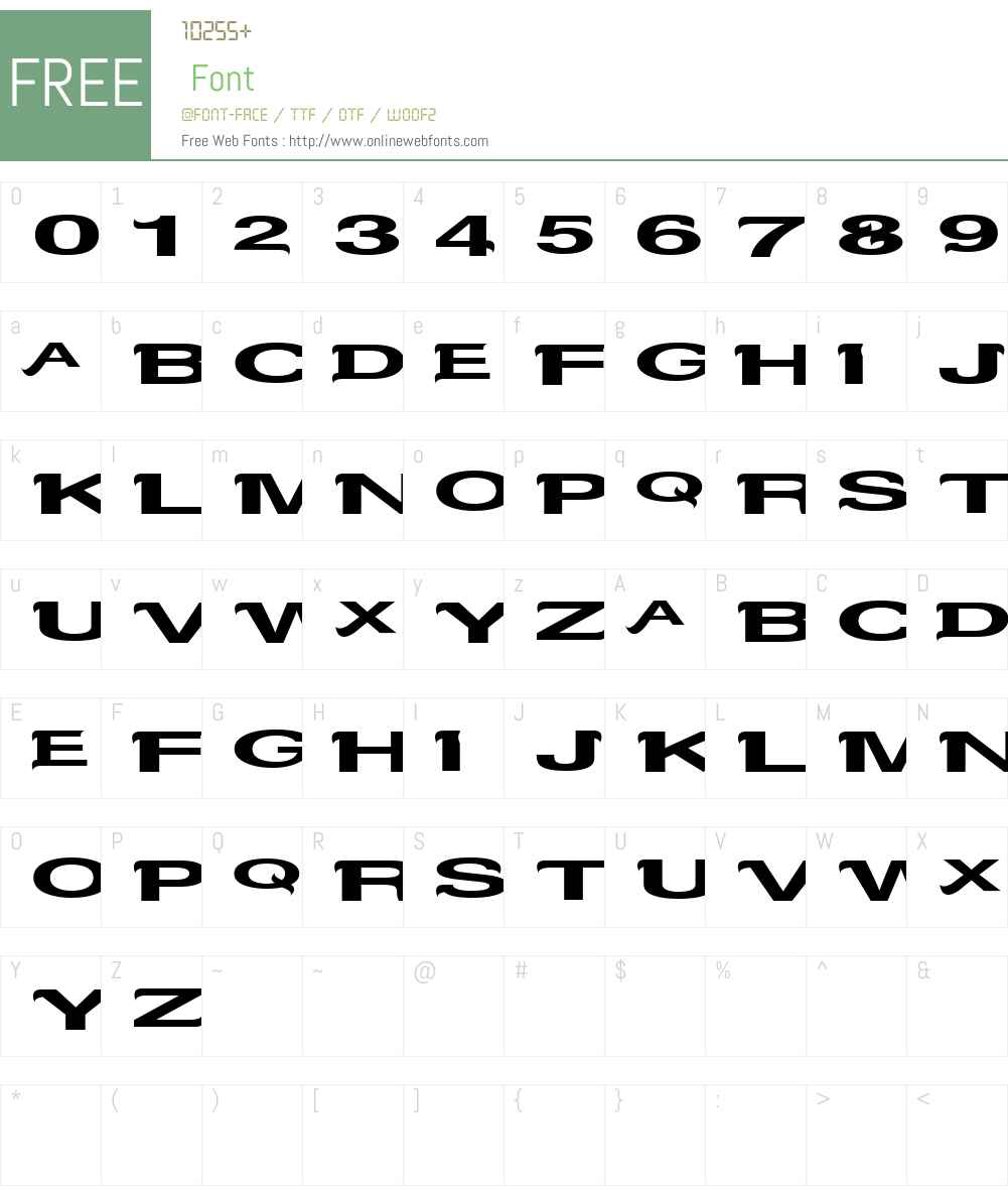 Serifvetika Font Screenshots
