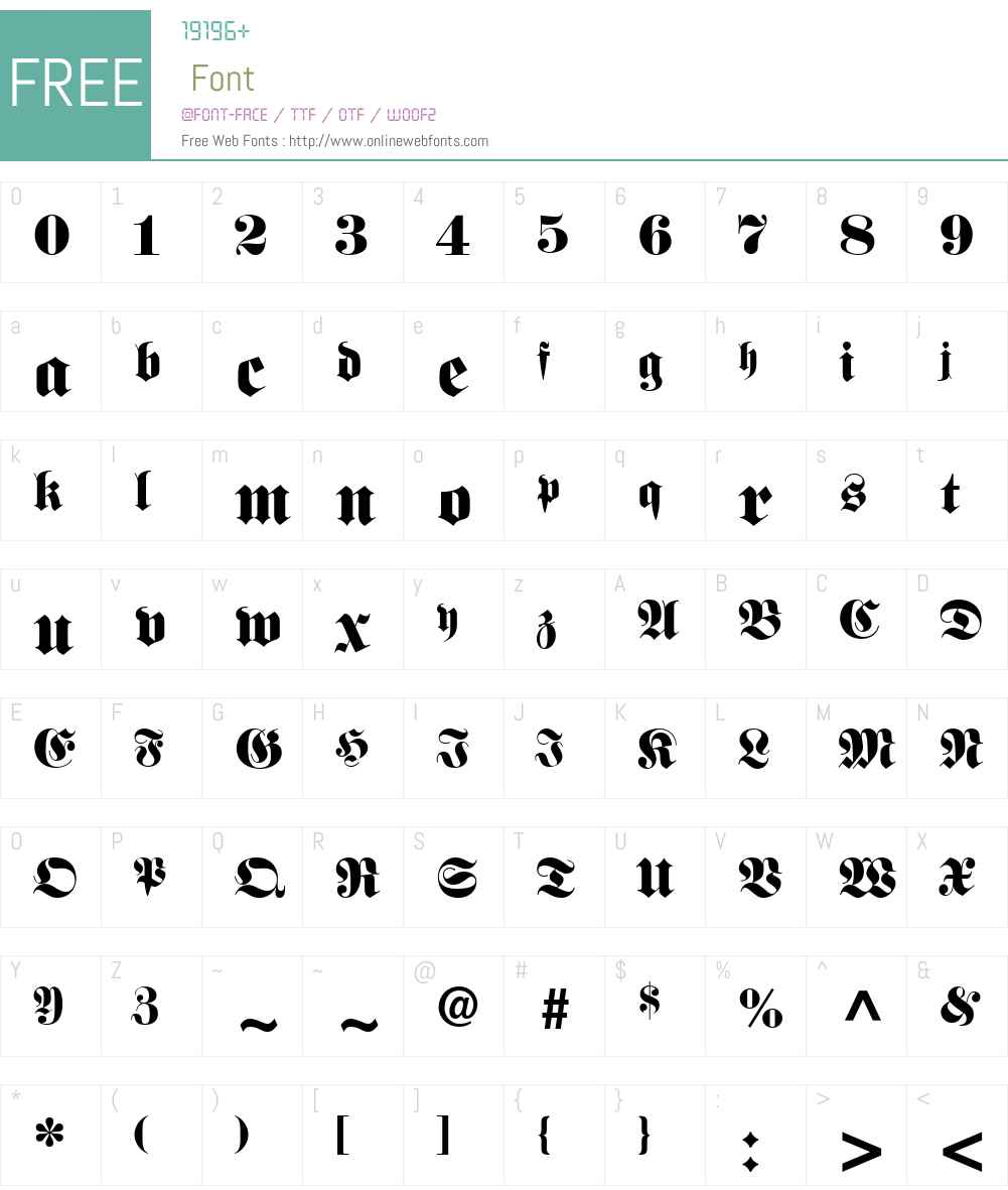 Bauble SSi Font Screenshots