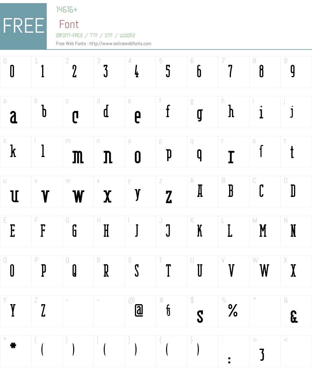 Berlin Email Serif Semibold Font Screenshots