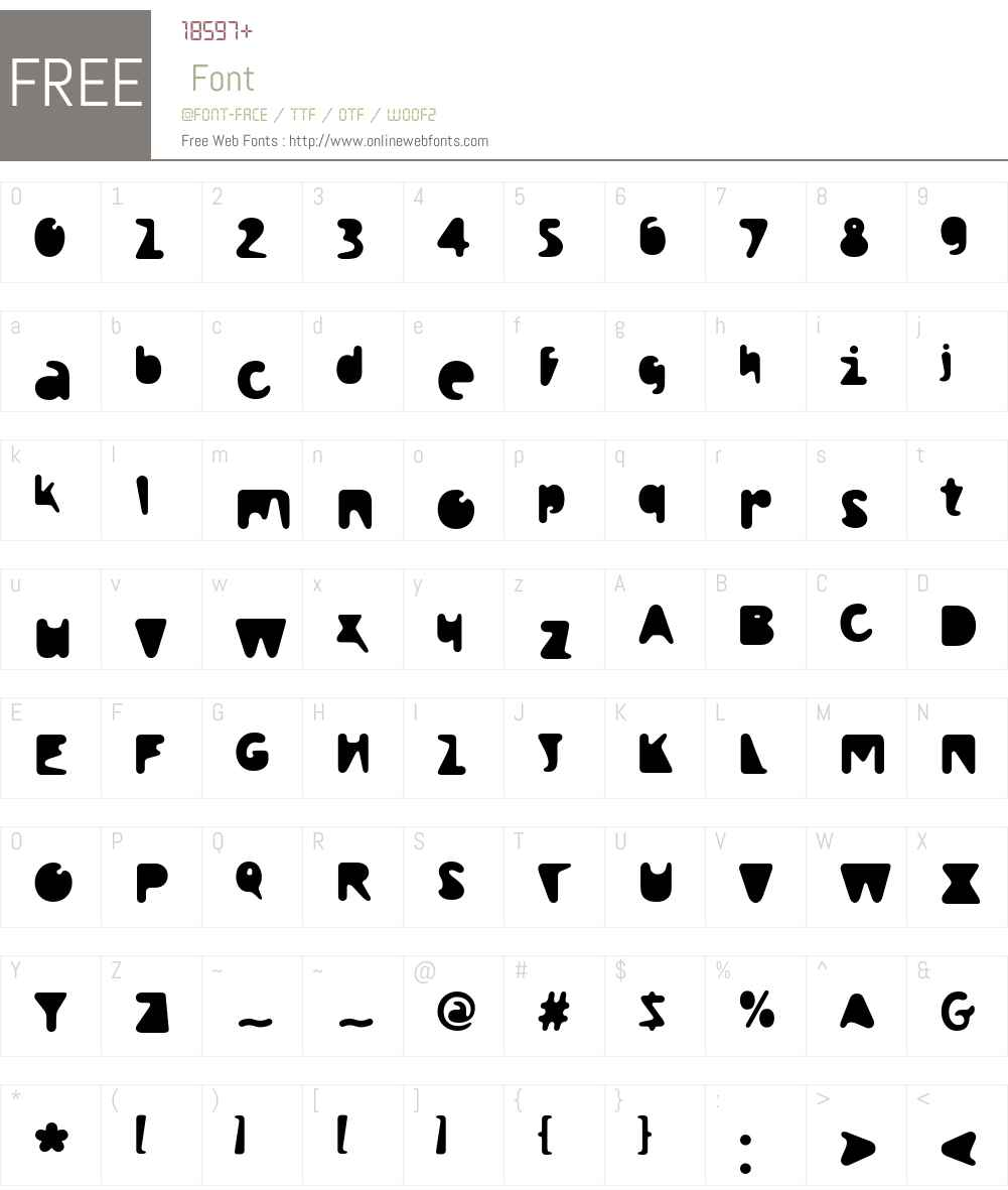 Droplet Font Screenshots