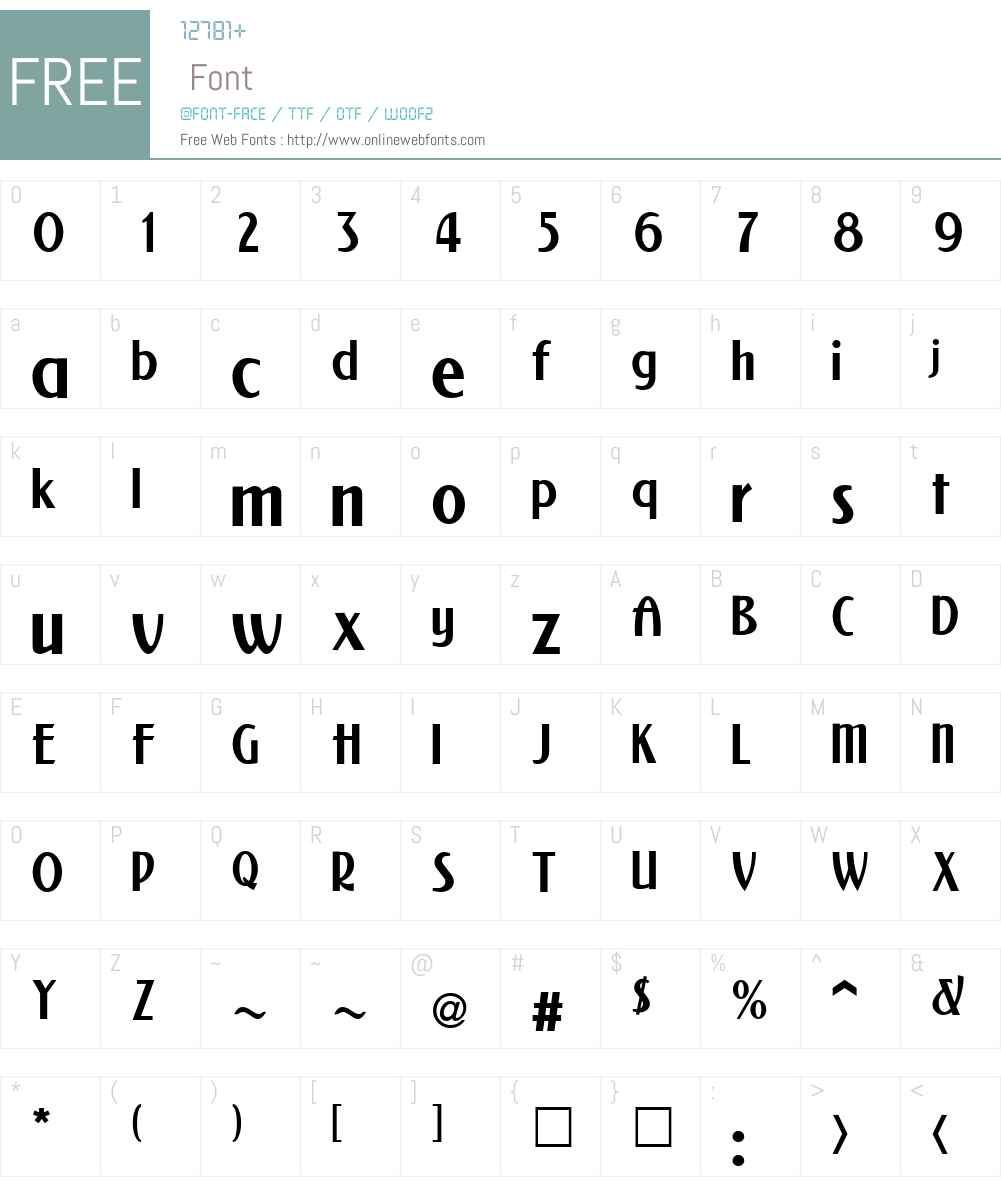 NewForum Font Screenshots