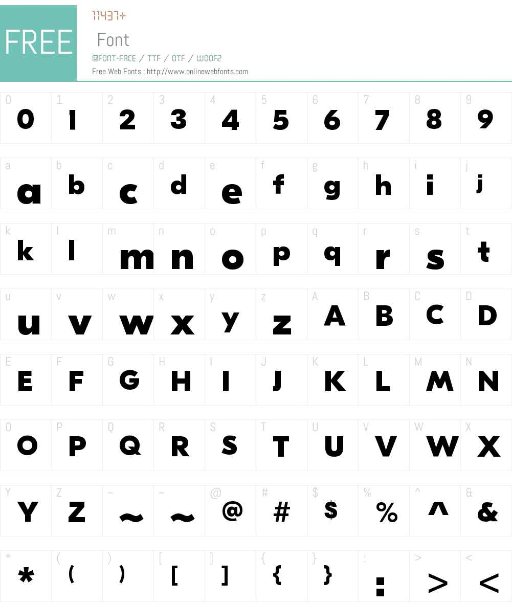 GT Eesti Pro Display UltraBold Font Screenshots
