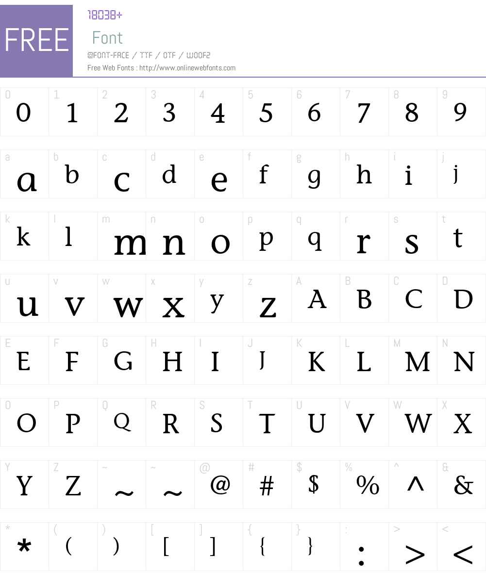 ITC Stone Informal LT Font Screenshots