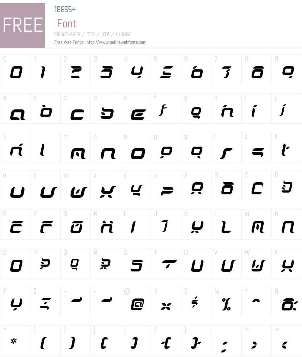 DorisOrange Font Screenshots