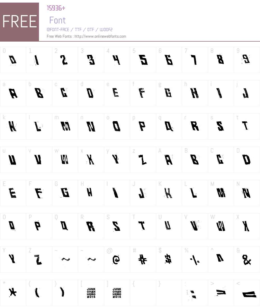 Rhythm Vino Font Screenshots