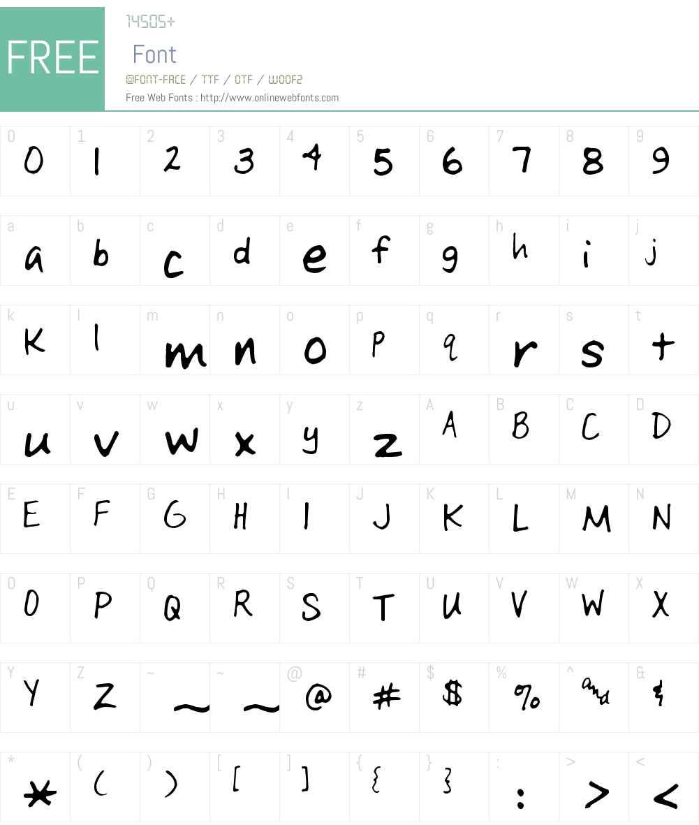 KGD Bretta Font Screenshots